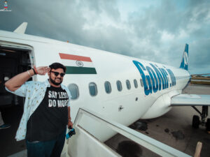 Travel to Maldives from India via #GoAir budget friendly way