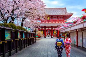 Visit to Sensoji Temple, Tokyo Japan