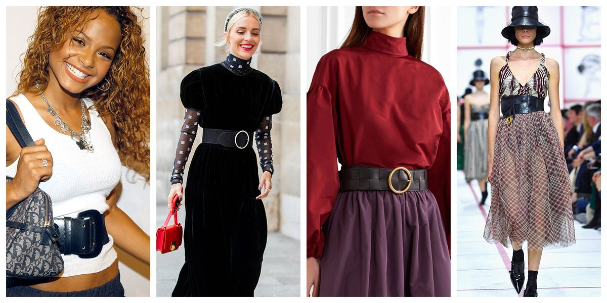 Wide Belts Are Back | Fashion Trends 2020