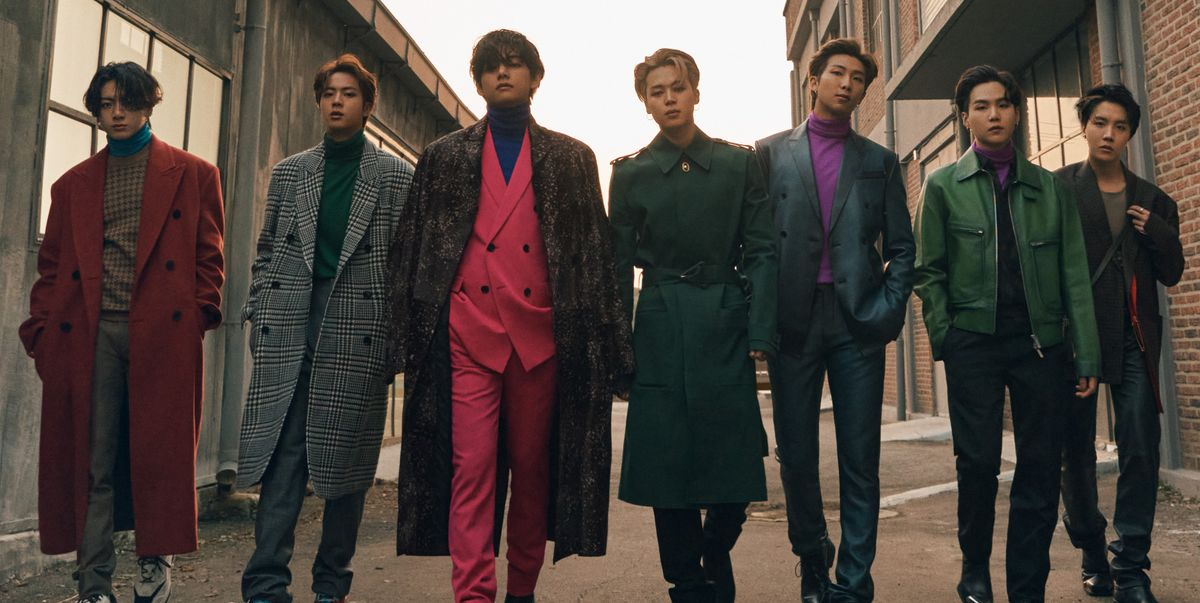 BTS Sets the Bar for Menswear In Their New 'Esquire' Cover