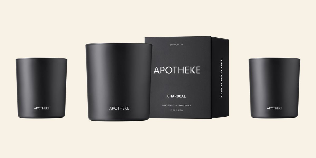 The Apotheke Charcoal Candle Is So Damn Cozy