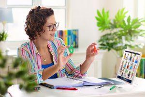 10 Best Online Teaching Background Ideas