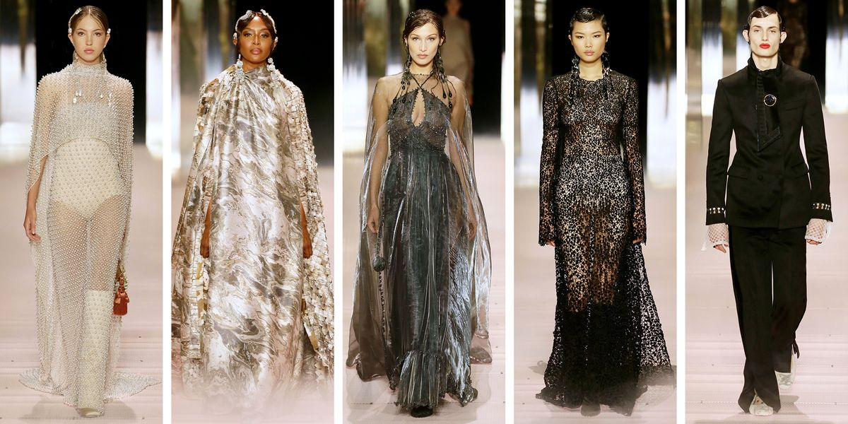 Fendi Couture Brings Out Naomi Campbell, Bella Hadid, and Kate Moss