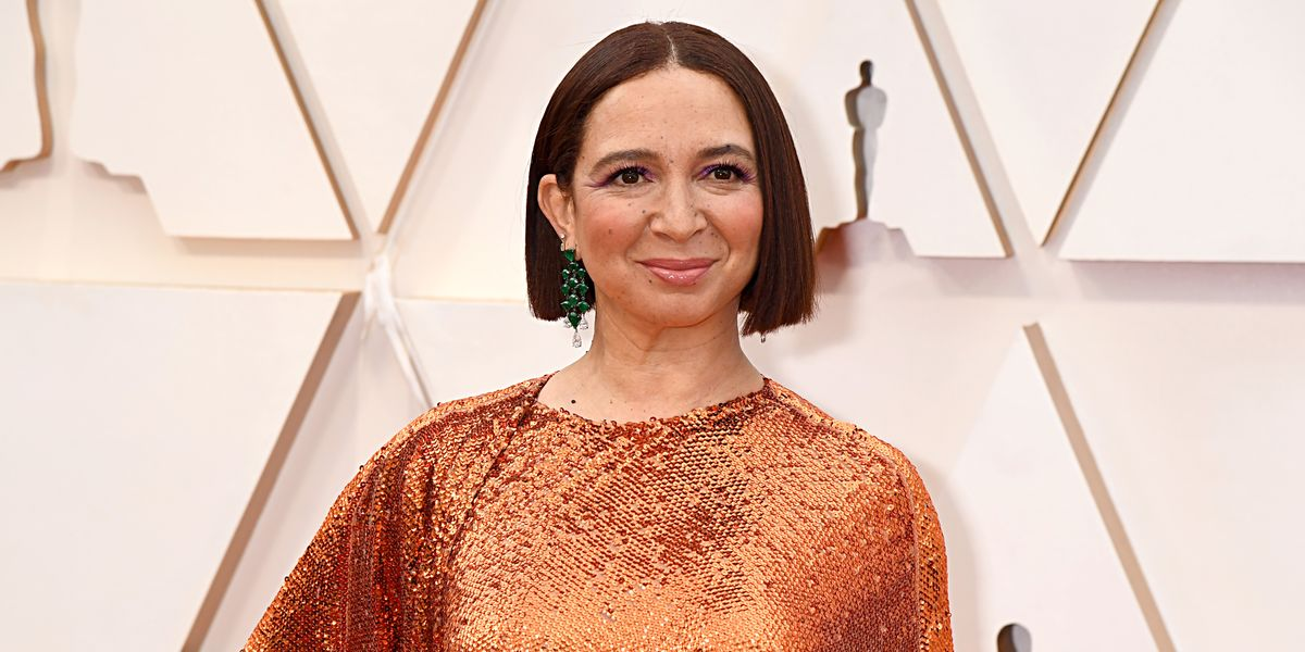 Here's How Maya Rudolph deals with Stressful News