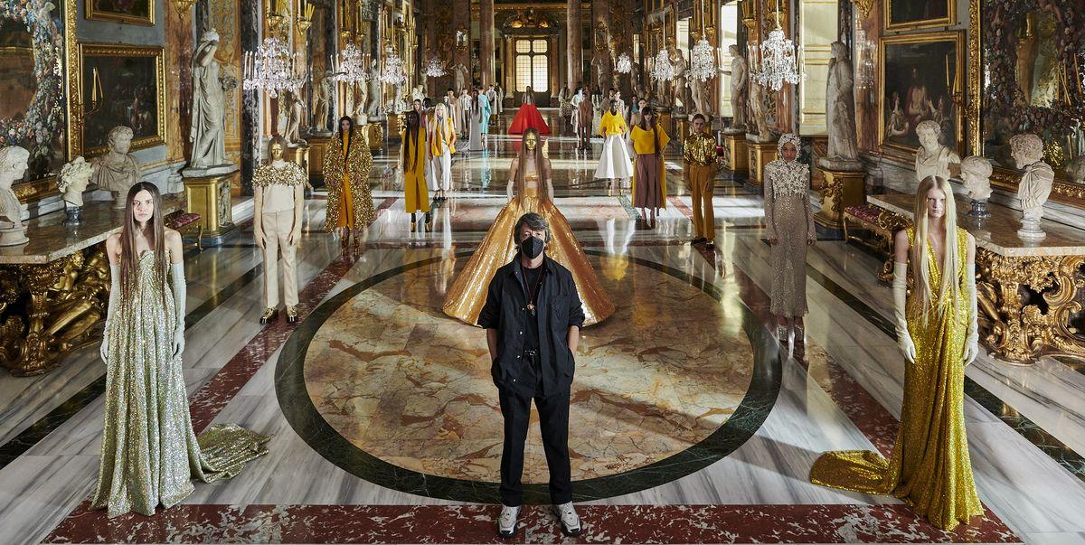 Valentino Pierpaolo Piccioli Seeks to Redefine Haute Couture