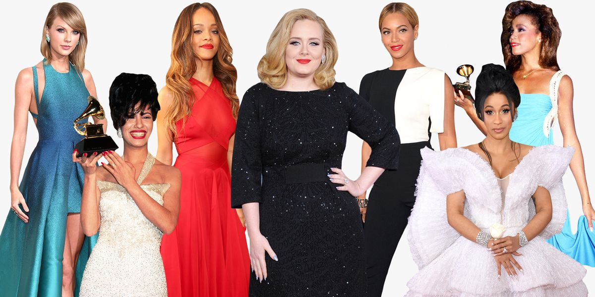 Best Celebrity Grammys Red Carpet Looks of All Time