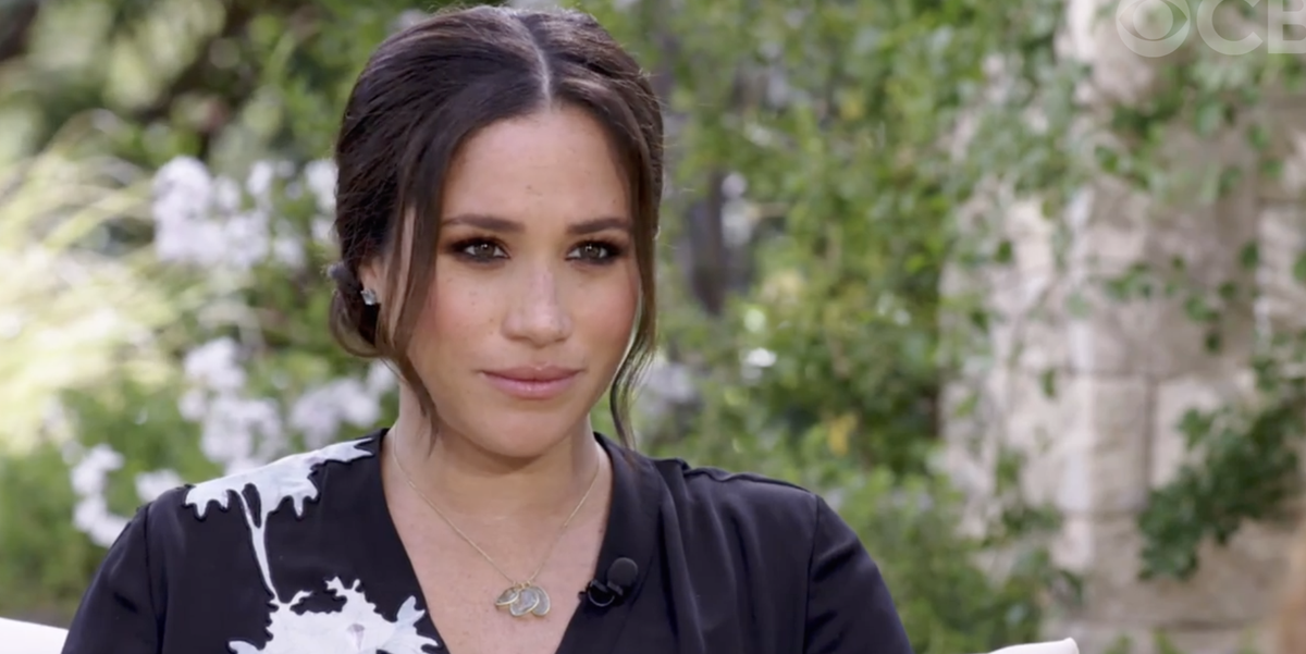 Meghan Markle Chose a Favorite Pippa Small Necklace for Her Interview With Oprah
