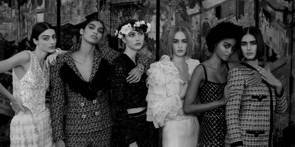 Chanel Couture's Romantic Spring Awakening