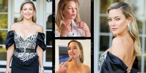 Kate Hudson Frosts Herself In Bvlgari at the 2021 Golden Globes