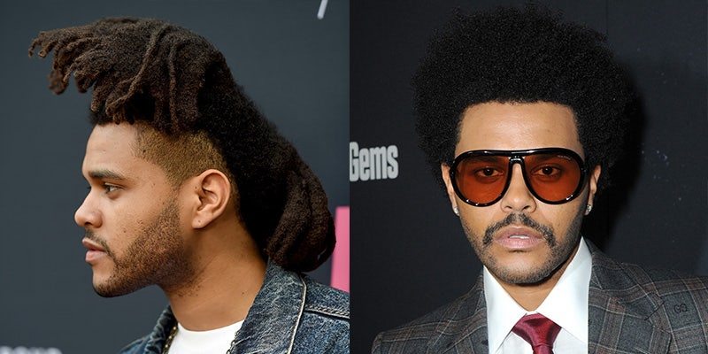 The Weeknd's Complete Hair Evolution